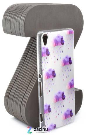 Чохол-накладка Rucover для Sony Xperia XA / XA Dual TPU Хмари, фото 2