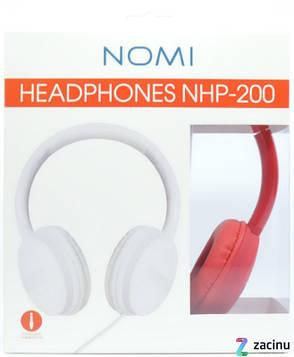 Наушники Nomi NHP-200 Красный, фото 2