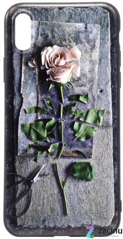 "Чехол накладка OMEVE для iPhone X (5.8 "") Pictures ser. 3D Pоза Серый, фото 2"