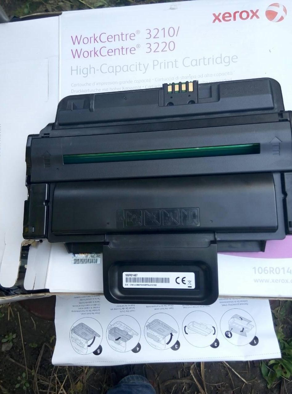 Картридж Xerox WC3210/3220 106R01487 virgin