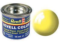 Краска № 12 желтая глянцевая yellow gloss 14ml