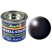 Краска № 302 черная шелковисто-матовая black silk 14ml