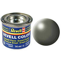 Краска № 362 камышового цвета шелковисто-матовая greyish green silk 14ml