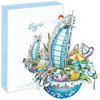 Трехмерная головоломка-конструктор Городской пейзаж: Дубай