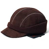 Кепка Элегант мужская замшевая коричневая Picador ЄС-2Т-10-2