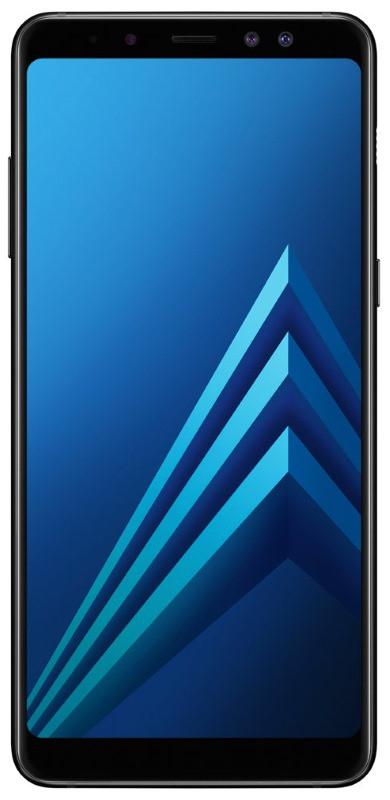 Смартфон SAMSUNG SM-A730F Galaxy A8 Plus Duos ZKD (black)