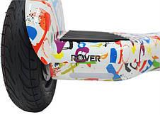 Гіроборд ROVER XL5 10,5 Graffiti white, фото 3