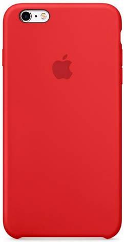 "Чохол-накладка для iPhone 6/6S (4.7"") Silicon Case ser. (veri high copi) Червоний(Red), фото 2"