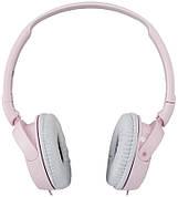 Наушники накладные с микрофоном проводные SONY MDR-ZX110APPC Розовый