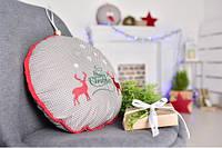 Подушка-игрушка Новогодние олени, фото 1