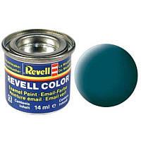 Краска № 48 цвета морской волны матовая sea green mat 14ml