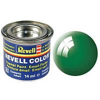 Краска № 61 изумрудно-зеленая глянцевая emerald green gloss 14ml
