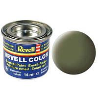Краска № 68 темно-зеленая матовая dark green, mat RAF 14ml