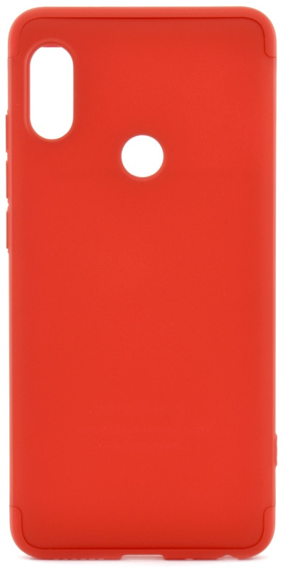 Чехол 360 ° LikGus для Xiaomi Redmi Note 5 Pro / Note 5360 ° Красный (439335)