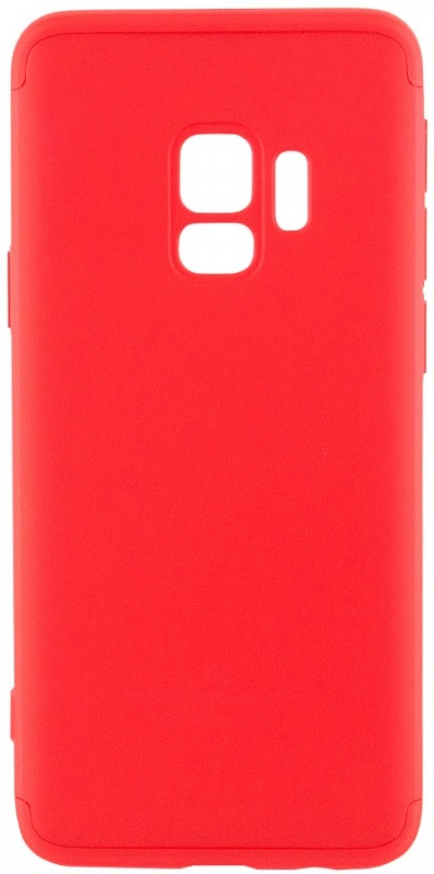 Чехол 360 ° LikGus для Samsung Galaxy S9 360 ° Красный (440034)