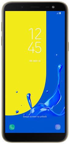 Смартфон SAMSUNG SM-J600F Galaxy J6 Duos ZDD (gold) , фото 2