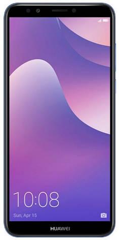 Смартфон HUAWEI Y7 2018 Prime Dual Sim (синій), фото 2