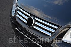 Накладка на решетку радиатора VW CADDY (2007-2010)