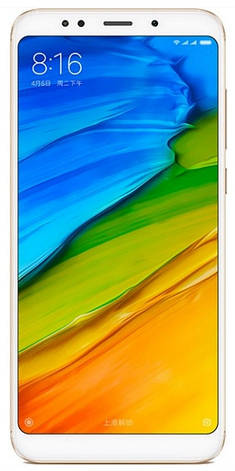 Смартфон Xiaomi Redmi 5 Plus 3/32 Gold (Global Version), фото 2