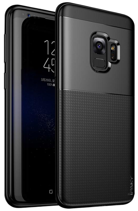 Чохол-накладка iPaky для Samsung Galaxy S9 TPU+PC Dunjia Чорний