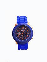 Часы женские Geneva Silicon Синие, фото 1