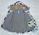 Куртка зимняя для девочки ТЕА серая (QuadriFoglio, Польша), фото 5