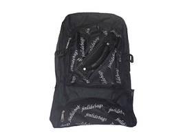 Рюкзак с надписями черный