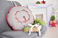 Подушка-игрушка Новогодняя Снегирь, фото 1