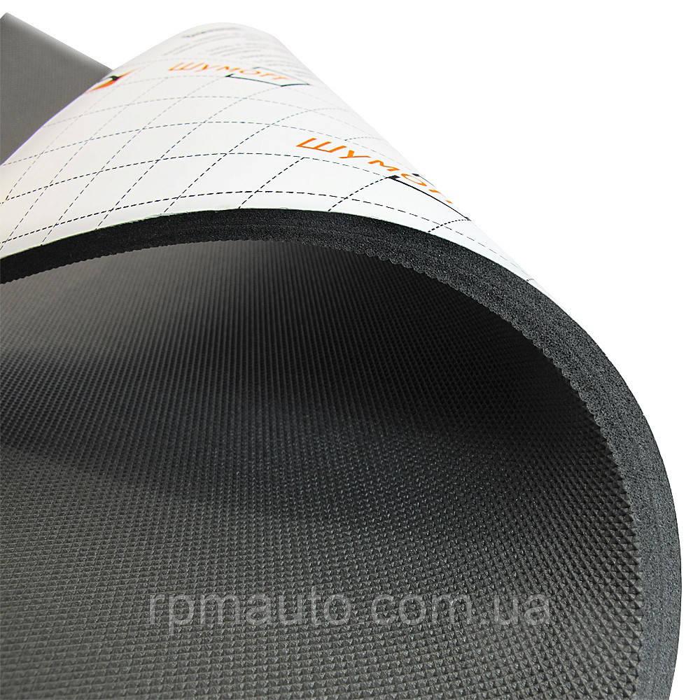 Шумоізоляція Авто ШУМОФФ П8 мм 56х75 см Обесшумка Шумка Шумоізоляція Шумівка Теплоізоляція для Авто