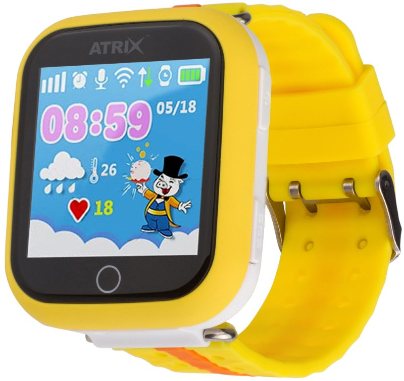 Смарт-часы ATRIX iQ100 Touch Orange