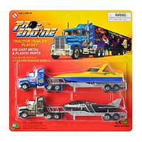 Набор игрушечных металлических машинок PT 2004