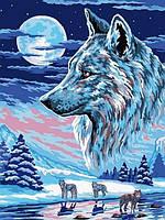 Набор для рисования 30×40 см. Волки, фото 1