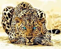 Набор для рисования 40×50 см. Леопард, фото 1
