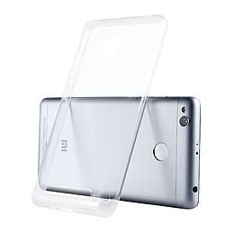 Прозрачный Чехол Xiaomi Redmi 3S / 3 Pro (ультратонкий силиконовый) (Сяоми Ксиаоми Редми 3С 3 Про)