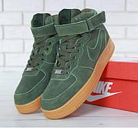 f8b76915 Nike Air Force 1 High Winter Green Gum (с Мехом) | кроссовки мужские;