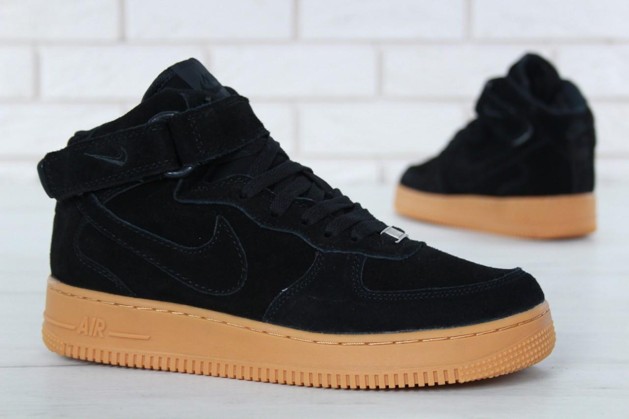 cab7744a ... Nike Air Force 1 High Winter Black Gum (с Мехом)   кроссовки мужские;  ...