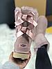 Женские угги UGG Bailey Bow II Metallic розовые с бантиком, фото 3