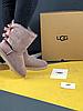 Женские угги UGG Bailey Bow II Metallic розовые с бантиком, фото 6