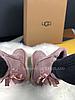 Женские угги UGG Bailey Bow II Metallic розовые с бантиком, фото 8