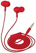 Наушники вакуумные с микрофоном TRUST URBAN Ziva In-ear Red (219524)