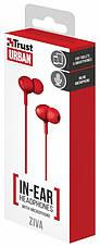 Наушники TRUST URBAN Ziva In-ear Red (219524), фото 2