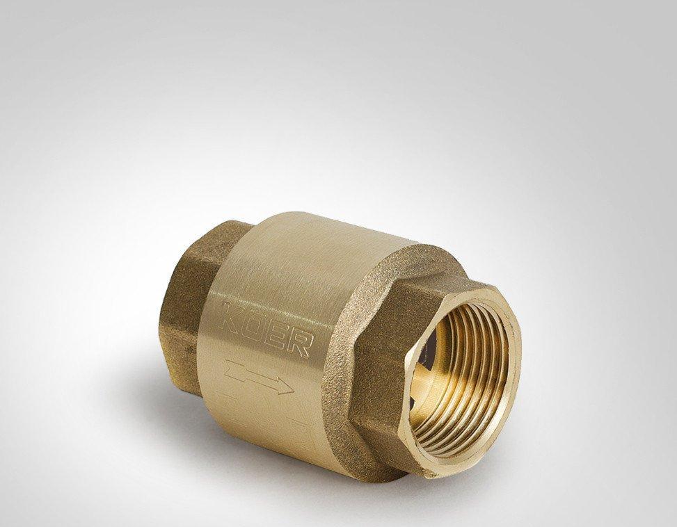Клапан обратный пружинный Koer KR.171