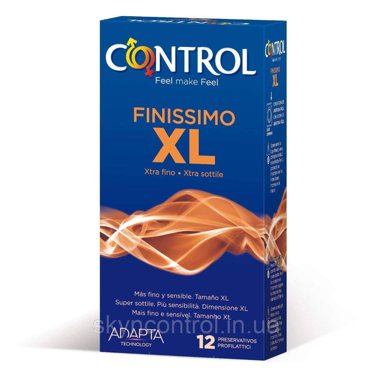 Презервативы Control Finissimo XL 12 шт