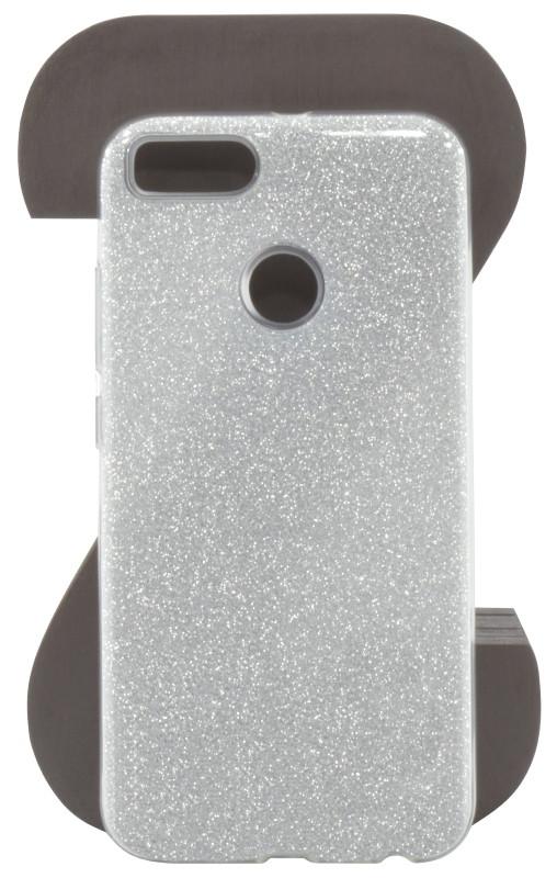 Чехол накладка Shine для Xiaomi Mi A1 / Mi 5X TPU Серебристый (444230)