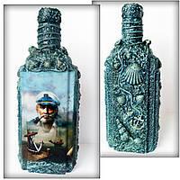 Подарок для моряка на день ВМФ Графин для водки «Подарок капитану» Сувениры морской тематики