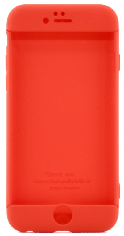 "Чехол 360 ° LikGus для Apple iPhone 6 / 6S (4.7 "") 360 ° Красный"