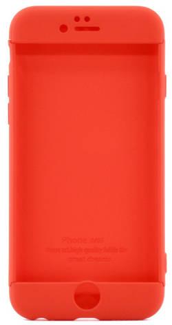 "Чехол 360 ° LikGus для Apple iPhone 6 / 6S (4.7 "") 360 ° Красный, фото 2"