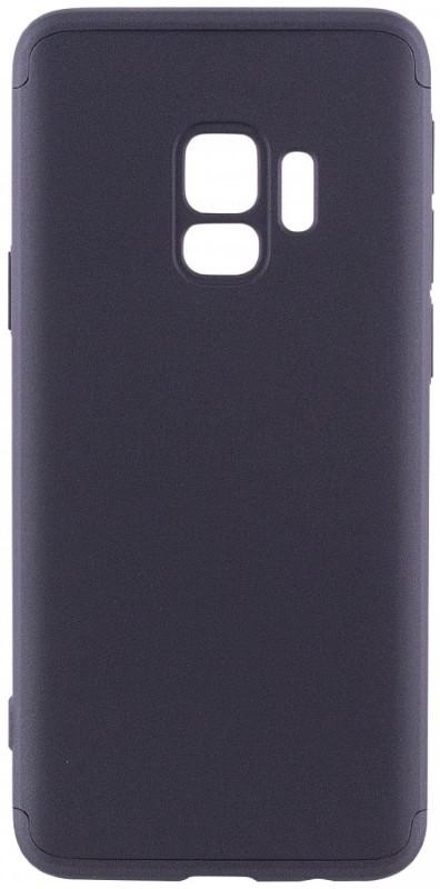 Чехол 360 ° LikGus для Samsung Galaxy S9 360 ° Черный