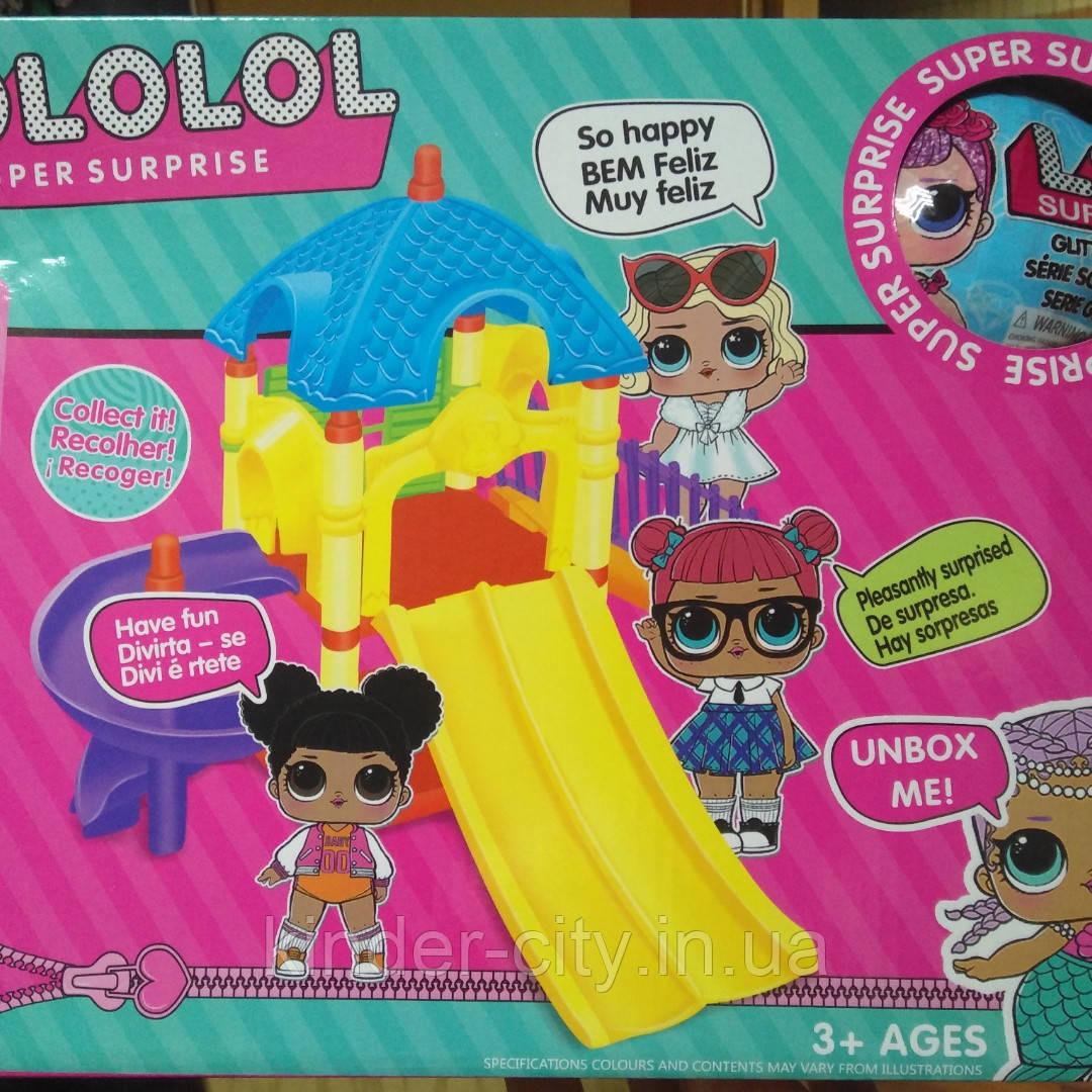 Кукла LOL с игровой площадкой 07