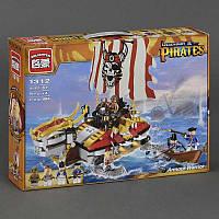 Детский конструктор Brick Пиратский корабль 1312 464 деталей (2018093V-769)